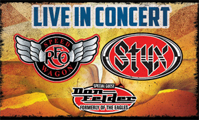 Styx and RFO Speed Wagon Concert Poster