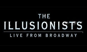 The Illusionists 2018 event poster